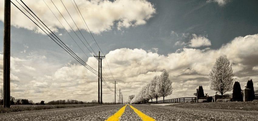 long-distance movers Arlington - a road